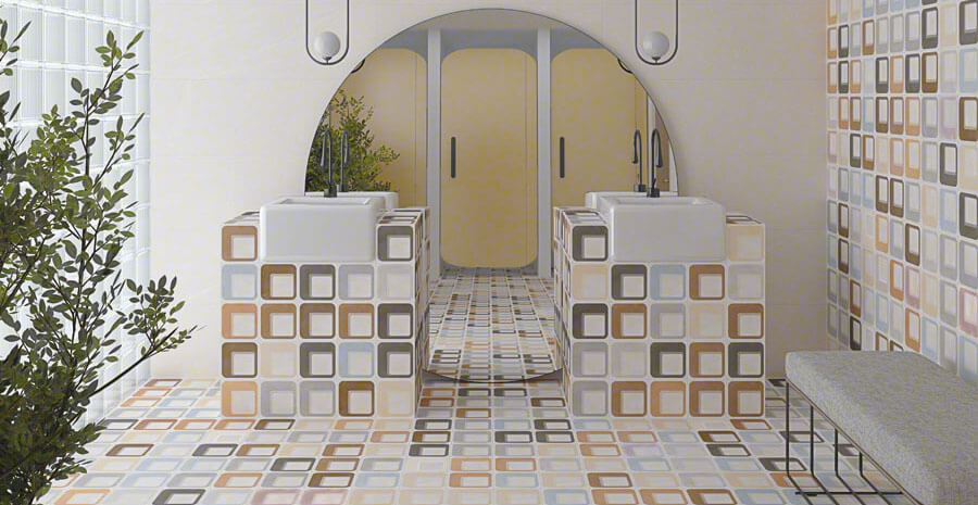 Pop Tile termékcsalád (Vives)