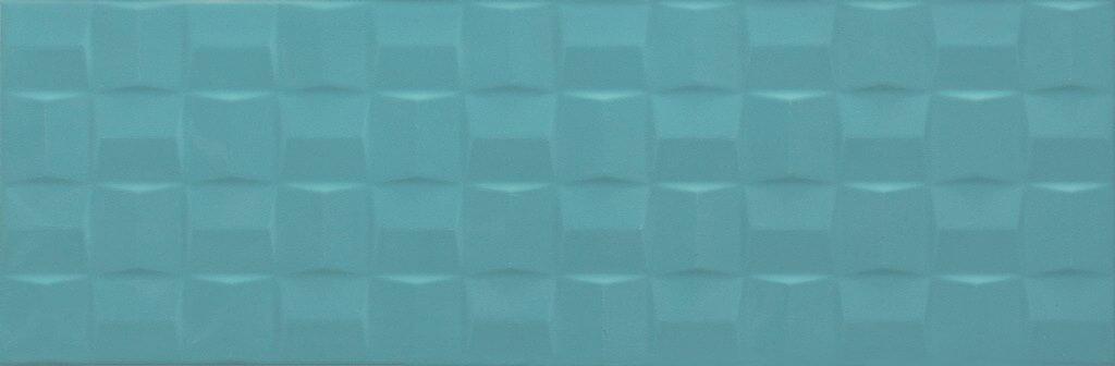 POTTERY TURQUOISE STRUTTURA CUBE 3D 25X76