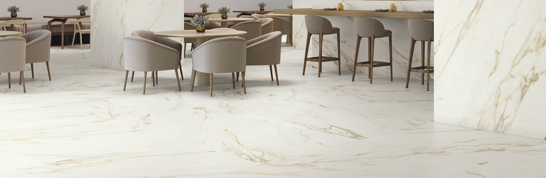 Magasfényű márvány padlólapok (Baldocer)